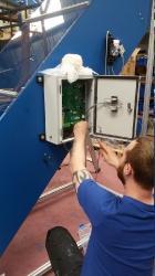 wiring conveyor alarm control box