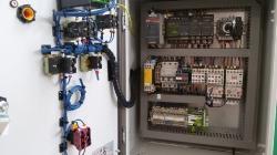 control for rumble pack, laser box sensor conveyor