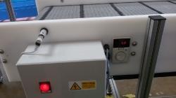 conveyor laser stop sensor control box