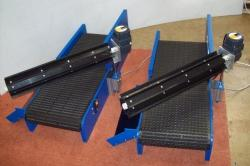 paddle separator conveyors