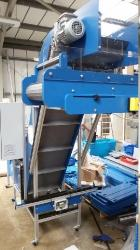swan neck box filler conveyor