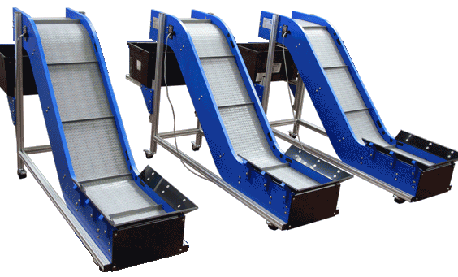 Modular plastic conveyor types