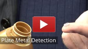 conveyor plate metal detection